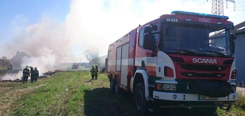 Požár křoví